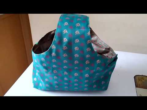 How To Make Shopping Carry Bag With Old Cloth || DIY Fabric Shopping Carry Bag