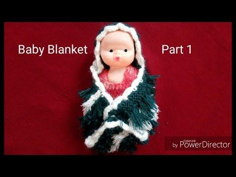 Easy Baby Blanket Knitting    part 1    in hindi & urdu