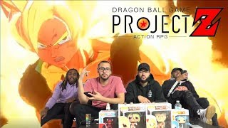 DRAGON BALL PROJECT Z GAME RPG TRAILER REACTION!