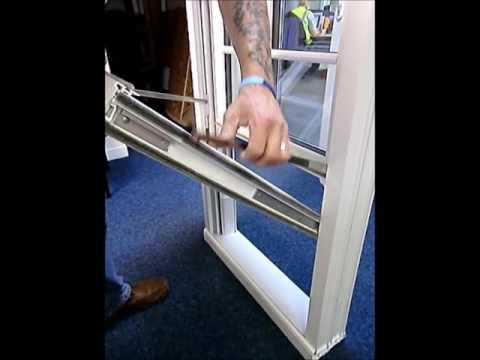 Removing Vertical Sliding Sash Window Sashes