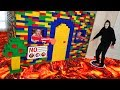 Giant Lego Fort Battle No Game Master Allowed In Booby Trapped House
