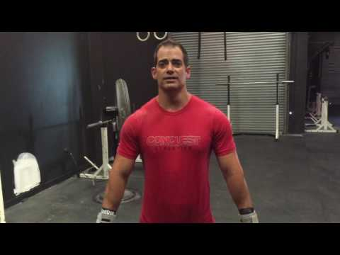 CrossFit Davie. CrossFit Conquest. Fast hang power cleans and snatches