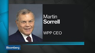 WPP Shares Tumble as CEO Sorrell Cuts Profit Outlook