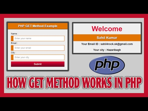 How GET Method Works in PHP  | How To Show Submitted Form Data On Page By GET Method | Learn PHP