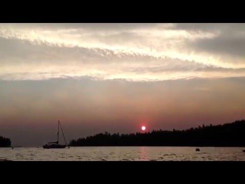 Emerald Bay Sunrise Lake Tahoe TIME LAPSE