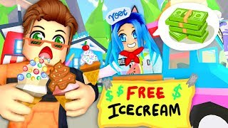 The best Ice Cream truck in Roblox Adopt Me...