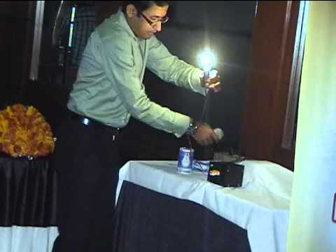 DEMO ANTY ELECTRIC SHOCK DEVICE WITHOUT INSULATION THE GUARD VOB