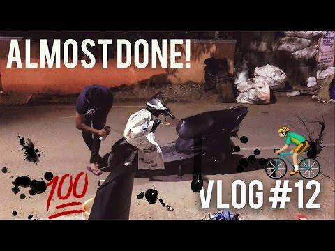 Vlog #12-Bike jacket and SPRAY Painting bae !