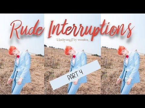 [FF/Imagine] Rude Interruptions Pt. 4 (BTS' Taehyung) [END]