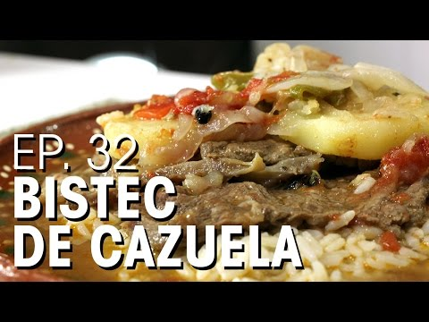 BISTEC DE CAZUELA ! BISTECK CON PAPAS !!! CABALLEROS POBRES