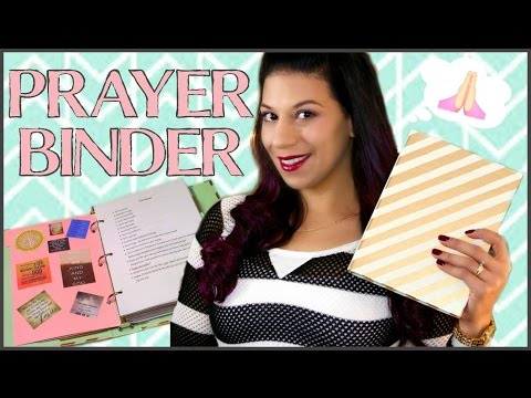 HOW TO SET UP AND USE A PRAYER BINDER  || PRAYER JOURNAL/NOTEBOOK || LIFE AS A TWIN MOM
