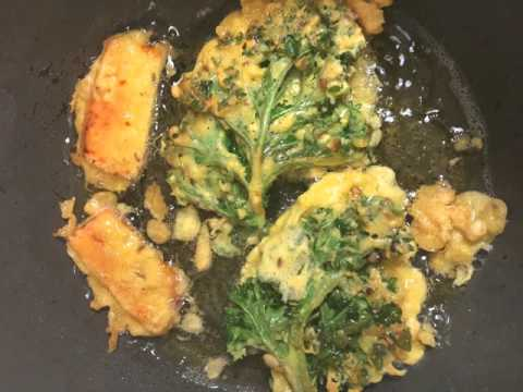 Chick pea flour veggie fritters