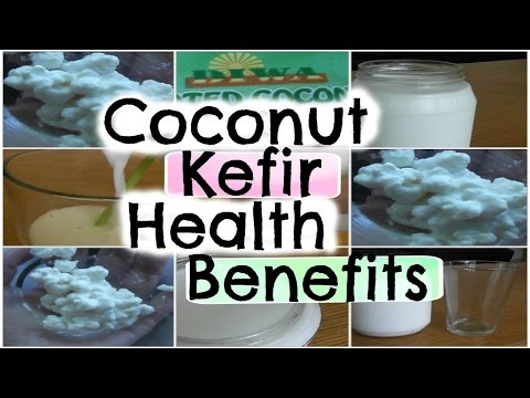 Coconut Kefir Health Benefits - Lose Weight and Heal Your Gut!!