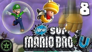 Geoff Goes Insane - New Super Mario Bros July (#8) | Let