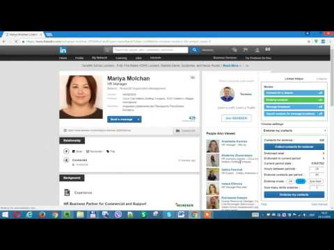LinkedIn - (PART 3) Boost your profile and get hundreds of endorsements