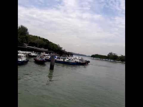 Vocation at Changi village beach. 18-10 -16 Singapore(2)