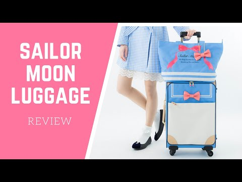 Super Groupies Sailor Moon Luggage Review