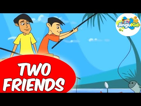 Two Friends Full Movie in English HD | Animated Moral Stories for Kids | Animation | Kindergarten