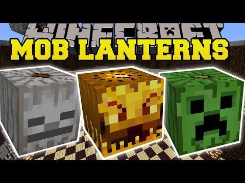 Minecraft: MOB LANTERNS MOD (EPIC MOB SPAWNERS & LANTERNS!) Mod Showcase