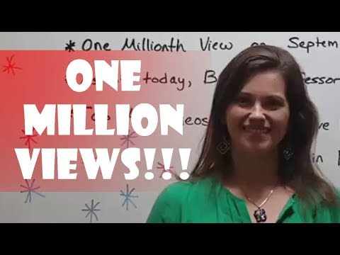 1,000,000 VIEWS!!!