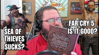 Gaming News: Sea of Thieves SUCKS? Far Cry 5 - is It Good?