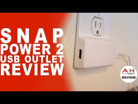 SnapPower 2 USB Outlet Charger Review
