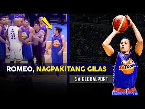 Unang Laro ni Romeo sa TNT, Kamusta? | Romeo vs Nabong? | PG Romeo is HERE!!!