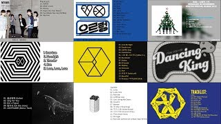 EXO All Songs ( MAMA - The Power of Music ) 2017