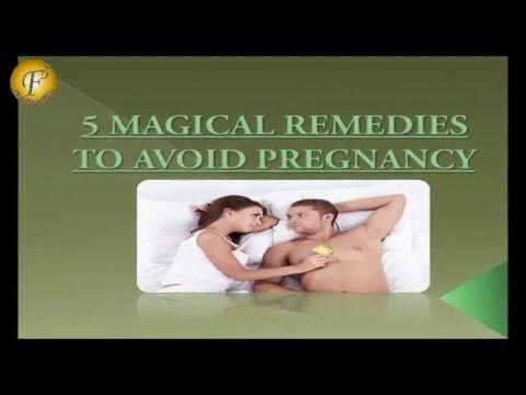 5 MAGICAL REMEDIES TO AVOID PREGNANCY II गर्भ नियंत्रण के लिए 5 चमत्कारी उपचार II