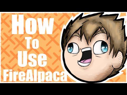 How To Use FireAlpaca