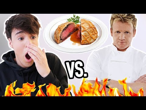 i made GORDON RAMSAY's most difficult dish