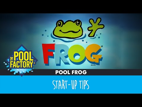 Above Ground Pool Start-up Tips with the Pool Frog