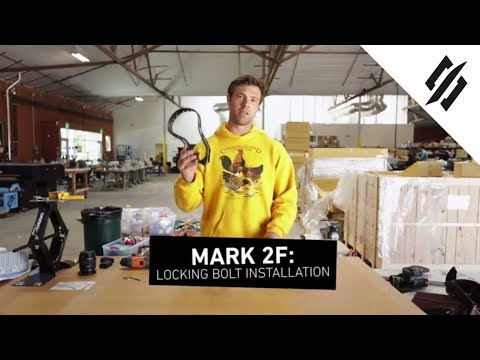 How to Attach Your Mark 2F with Locking Bolts   StringKing Lacrosse