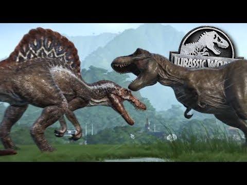 Dinosaur Death Duels Are BACK! - Jurassic World Evolution
