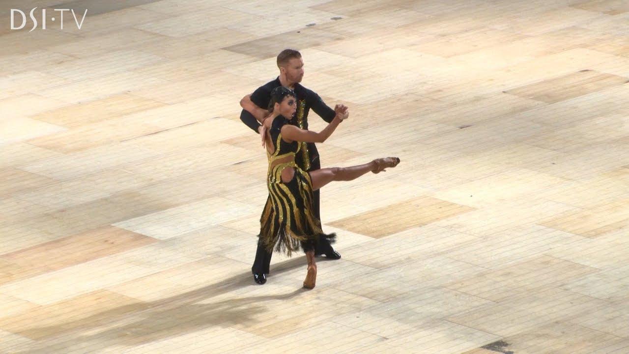 Neil & Katya Jones - UK Open Presentation Dance DSI TV