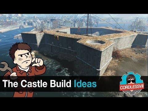 Fallout 4 | The Castle Build Ideas