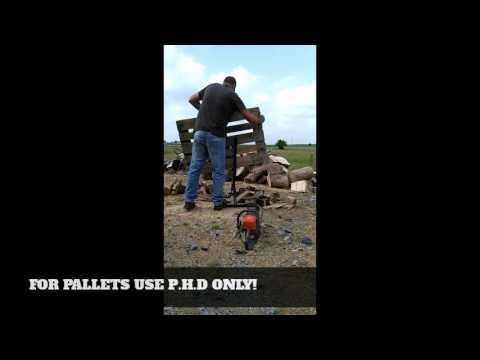 Pallet/log holder