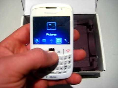 Unlocked Blackberry 8520 WiFi Trackpad