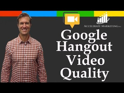 Google hangout video quality: Change The Resolution Or Bandwidth Of The Hangout To Prevent Delay