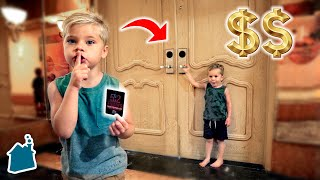 SNEAKING INTO EXPENSIVE VEGAS HOTEL! $$$