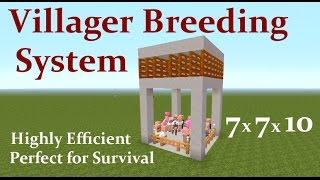 Minecraft Villager Breeder 1 13 & MCPE | Daikhlo