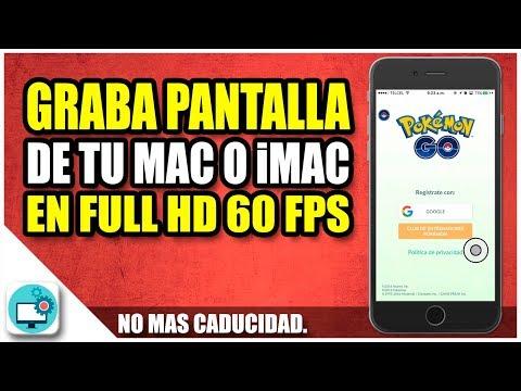 Grabar pantalla de MAC en FULL HD a 60 FPS | Screen Grabber Pro Mac
