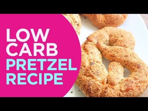 THE BEST LOW CARB PRETZEL💞 LowCarb, GlutenFree, SugarFree 💞