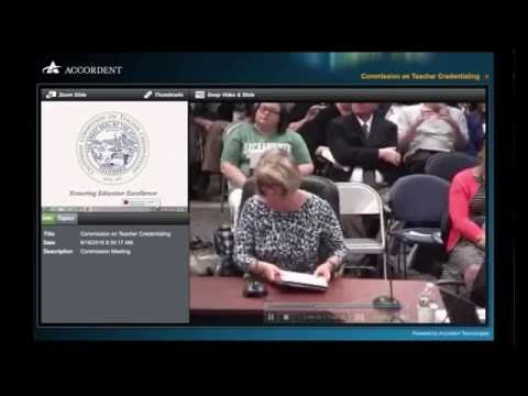 CSUEB DEL Faculty Members Speak To The California Commission on Teacher Credentialing