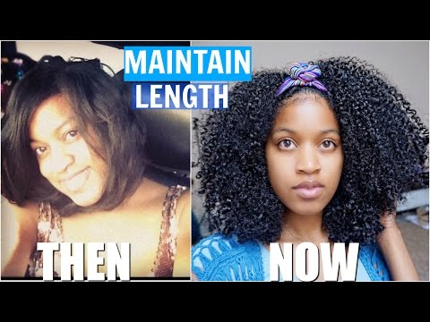 How To Maintain Long Hair & Retain Length + Healthy Natural Hair Natural Hair Care