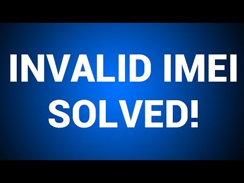 [HD] How To Fix Invalid IMEI or No Network Issue on any phone