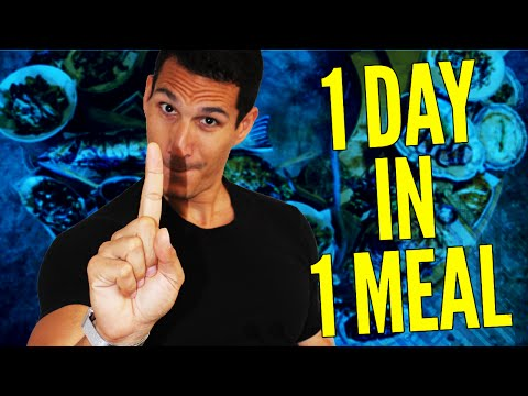 One Meal A Day (OMAD) EXPLAINED! (Weight Loss & Calories Count?)