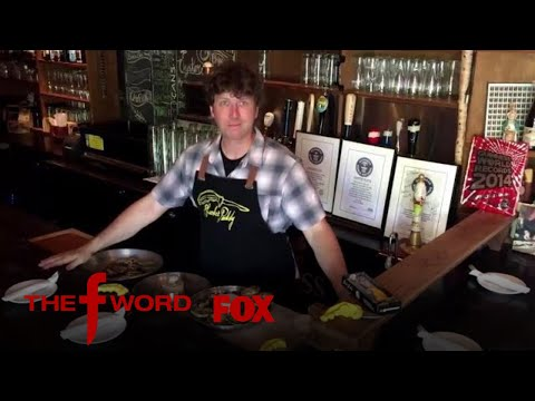 Oyster Shucking World Record Holder Travels To The F Word   Season 1 Ep. 10   THE F WORD