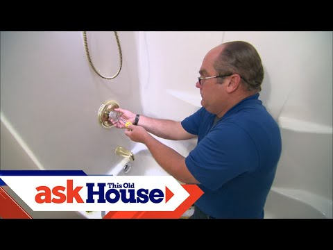 How to Replace a Clogged Shower Valve