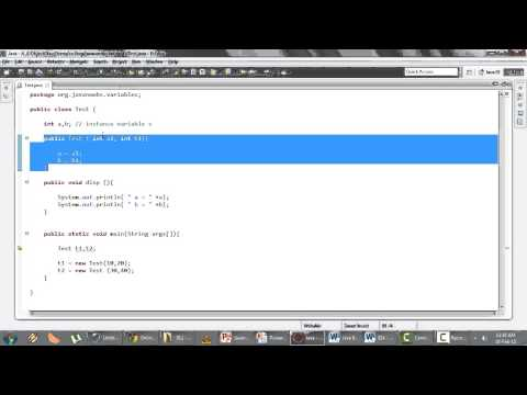 Java Basics Part 1 - Q 14)Difference static and instance variables